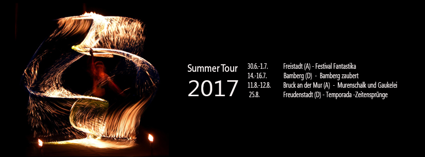 Feuershow Sommer Tour 2017