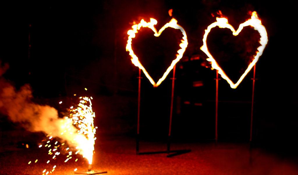 Hochzeitsshow - Feuershow für Hochzeiten