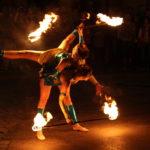Feuershow Funkshow aus Wien Österreich Feuershow Showkünstler in Österreich Feuerkünstler